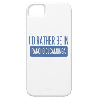 I'd rather be in Rancho Cucamonga iPhone 5 Cover