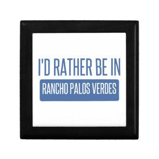I'd rather be in Rancho Palos Verdes Keepsake Boxes