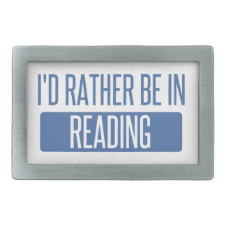 I'd rather be in Reading Belt Buckles
