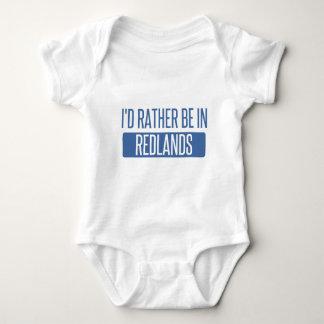 I'd rather be in Redlands Baby Bodysuit