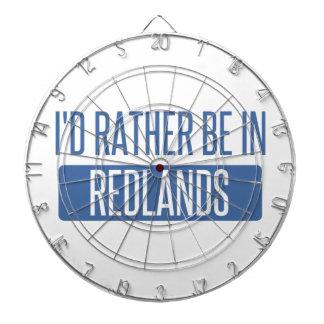 I'd rather be in Redlands Dartboard