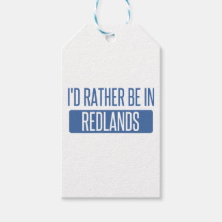 I'd rather be in Redlands Gift Tags
