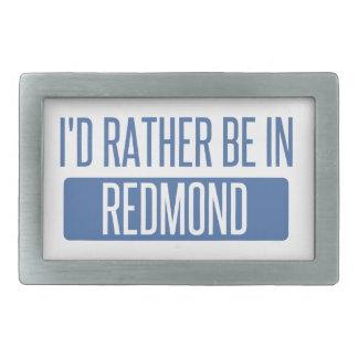 I'd rather be in Redmond Belt Buckles