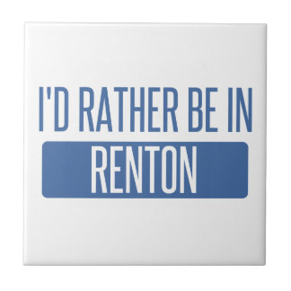 I'd rather be in Renton Tile