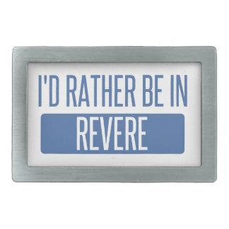 I'd rather be in Revere Belt Buckles