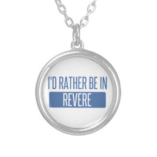 I'd rather be in Revere Silver Plated Necklace