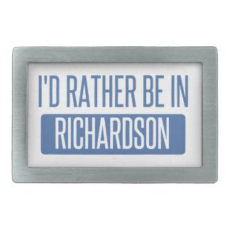 I'd rather be in Richland Rectangular Belt Buckles