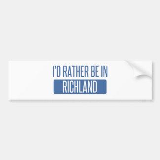 I'd rather be in Richmond CA Bumper Sticker