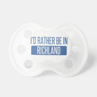 I'd rather be in Richmond CA Pacifier