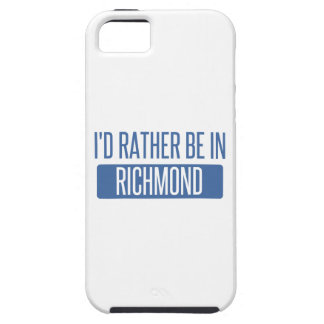 I'd rather be in Richmond IN iPhone 5 Cover