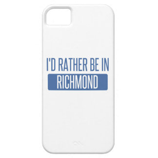 I'd rather be in Richmond VA iPhone 5 Case