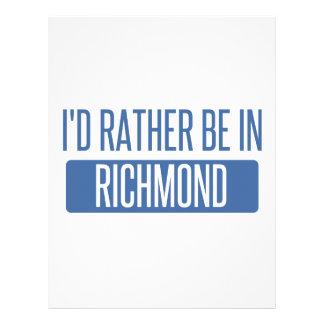I'd rather be in Richmond VA Letterhead