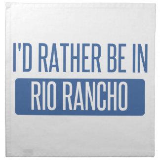 I'd rather be in Riverside Napkin