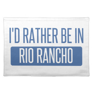 I'd rather be in Riverside Placemat