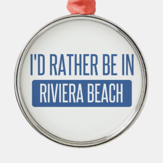 I'd rather be in Roanoke Metal Ornament