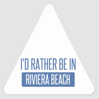 I'd rather be in Roanoke Triangle Sticker