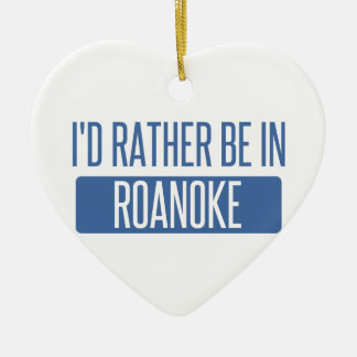 I'd rather be in Rochester Hills Ceramic Ornament