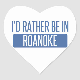 I'd rather be in Rochester Hills Heart Sticker