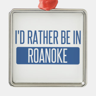 I'd rather be in Rochester Hills Metal Ornament