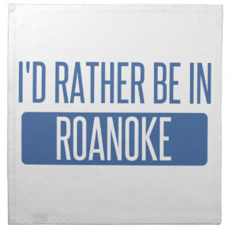 I'd rather be in Rochester Hills Napkin