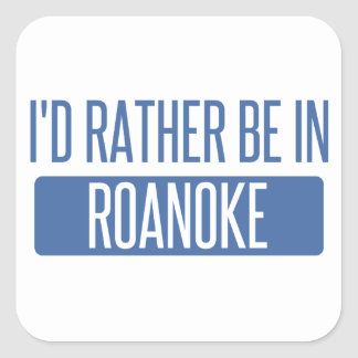 I'd rather be in Rochester Hills Square Sticker