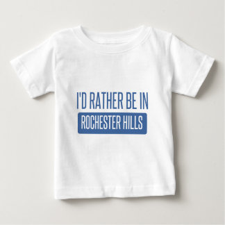 I'd rather be in Rochester MN Baby T-Shirt