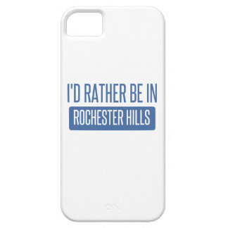 I'd rather be in Rochester MN iPhone 5 Case