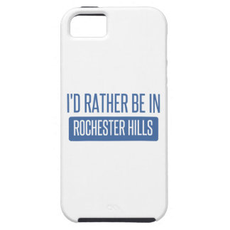 I'd rather be in Rochester MN iPhone 5 Cases