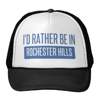 I'd rather be in Rochester MN Trucker Hat