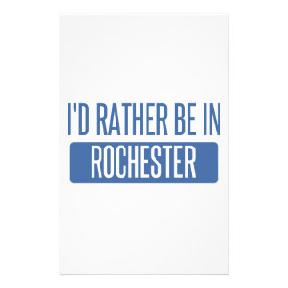 I'd rather be in Rock Hill Stationery
