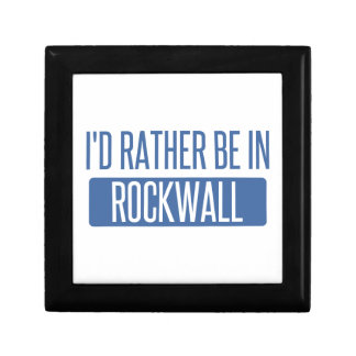 I'd rather be in Rockwall Gift Box