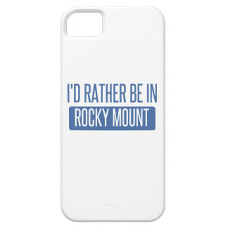 I'd rather be in Rocky Mount iPhone 5 Cover