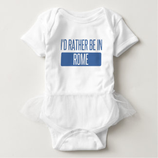 I'd rather be in Rome Baby Bodysuit