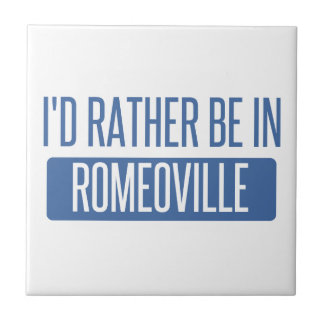I'd rather be in Romeoville Tile