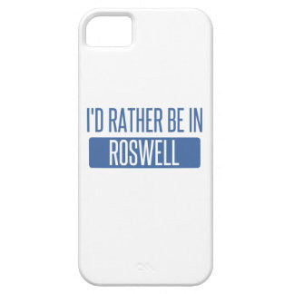 I'd rather be in Roswell GA iPhone 5 Cases