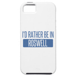 I'd rather be in Roswell NM Case For The iPhone 5