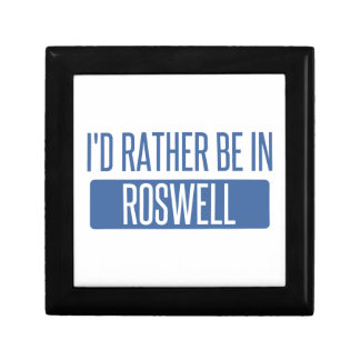 I'd rather be in Roswell NM Gift Box