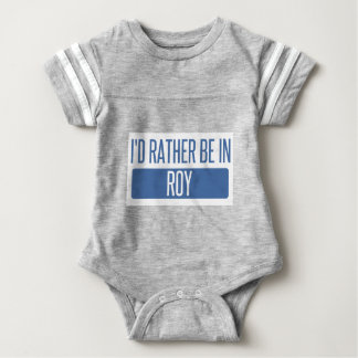 I'd rather be in Roy Baby Bodysuit