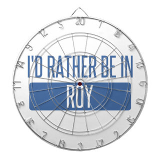 I'd rather be in Roy Dartboard