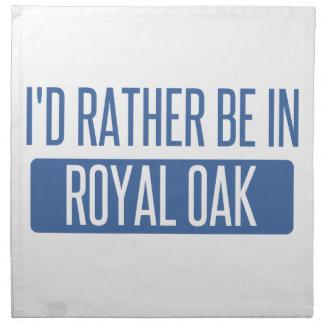 I'd rather be in Royal Oak Napkin
