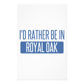 I'd rather be in Royal Oak Stationery