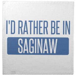 I'd rather be in Saginaw Napkin