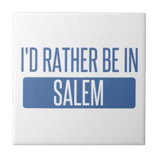 I'd rather be in Salem MA Tile