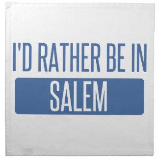 I'd rather be in Salem OR Napkin