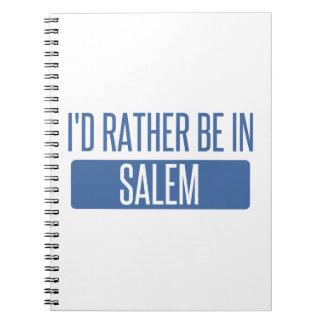 I'd rather be in Salem OR Spiral Notebook