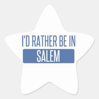 I'd rather be in Salem OR Star Sticker