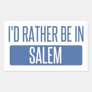 I'd rather be in Salem OR Sticker