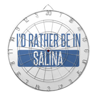 I'd rather be in Salina Dartboard