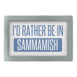 I'd rather be in Sammamish Belt Buckles