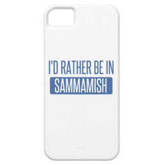 I'd rather be in Sammamish iPhone 5 Covers